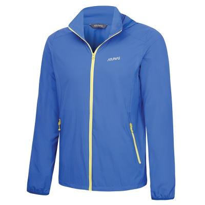 【ATUNAS 歐都納】男款防曬透氣輕薄外套 A-G1604M 藍紫