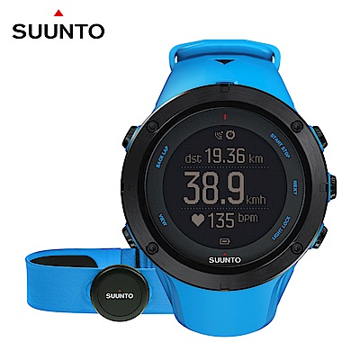 SUUNTO Ambit3 Peak Sapphire HR 進階戶外探險GPS腕錶