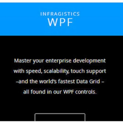 Infragistics for WPF 單機授權