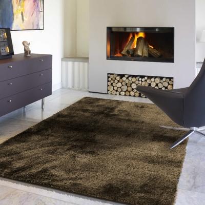 范登伯格 - 凱特 混織長毛地毯 (咖啡色 - 140x200cm)