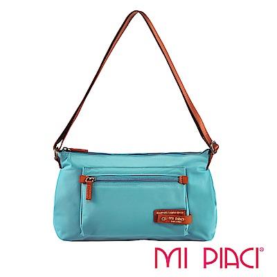 MI PIACI-輕盈系列-側肩背包1282718-孔雀藍