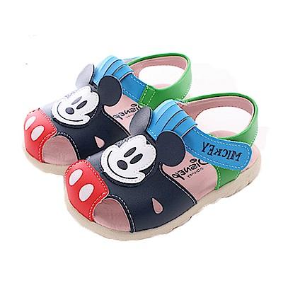 迪士尼米奇護趾魔鬼貼涼鞋 sk0390 魔法Baby