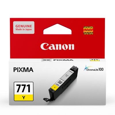 CANON CLI-771Y 原廠黃色墨水匣