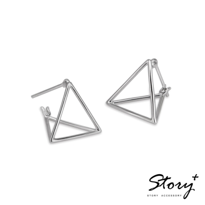STORY ACCESSORY-解構主義-純銀耳環