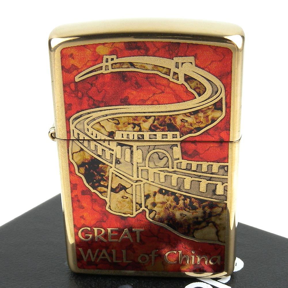 【ZIPPO】美系~Great Wall of China-中國萬里長城圖案設計打火機