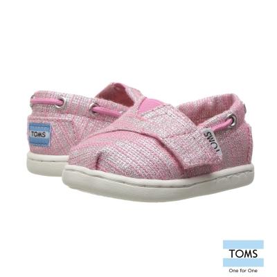 TOMS 細線金絲懶人鞋-幼童款