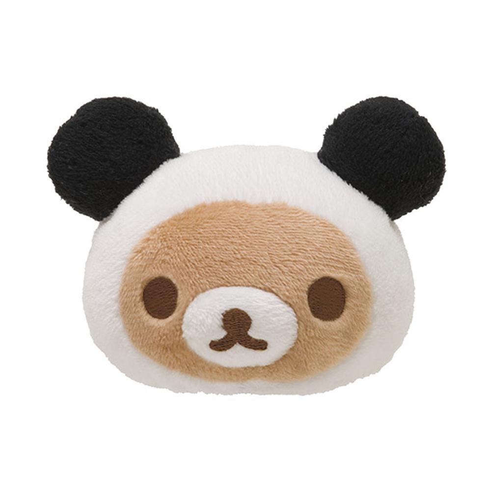 San-X家族QQ毛絨公仔螢幕擦護腕墊熊貓懶熊