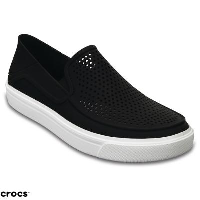 Crocs 卡駱馳 (女鞋) 都會街頭洛卡便鞋 204622-001