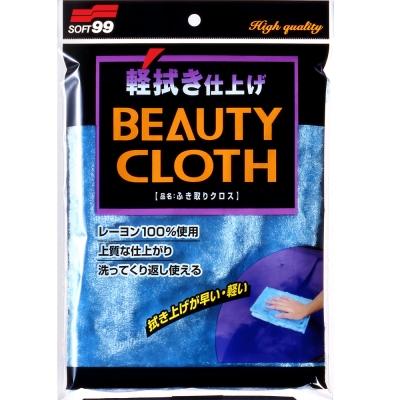 日本SOFT 99 洗車、打蠟絨布-快