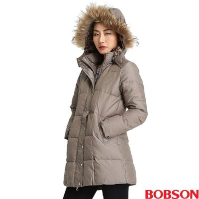 BOBSON 女款尊爵長版羽絨外套