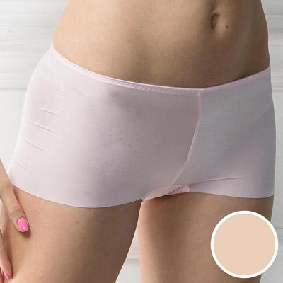 華歌爾-V機密系列貼身無痕M-LL低腰平口褲(魅力膚)