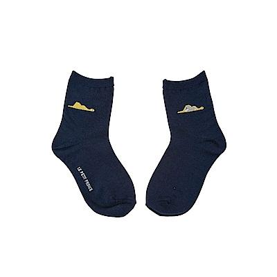 7321 Design 經典童話圖騰童襪(1雙入) S-蟒蛇帽-深藍