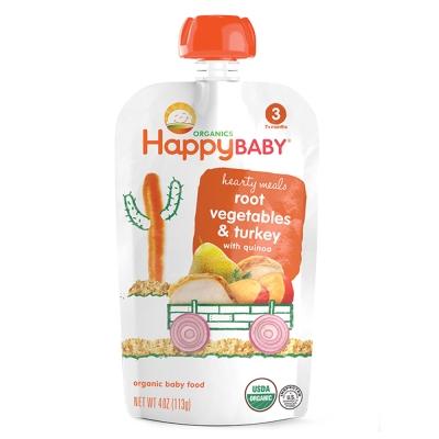 HappyFamily_佑爾康金貝親有機嬰兒副食品S3(火雞肉燉) 113g