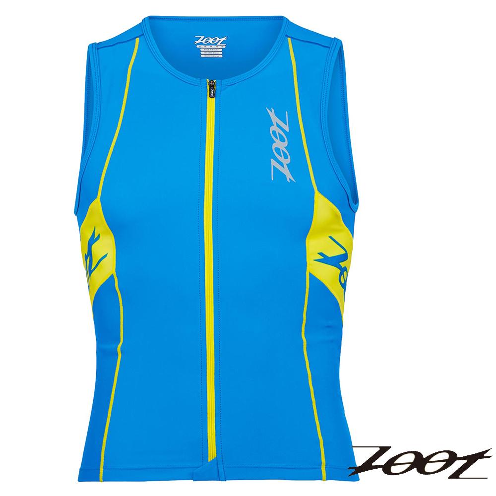 ZOOT 專業級全拉式鐵人上衣(極光藍黃)(男) Z1506027