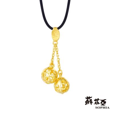 蘇菲亞SOPHIA - G LOVER系列 幸福繡球黃金項鍊