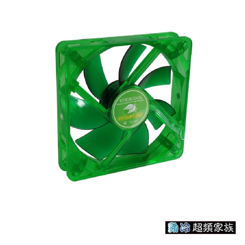 EVERCOOL 勁冷超頻家族 靜音12公分環保風扇