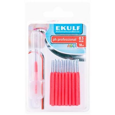 瑞典Ekulf 0.5mm專業牙間刷18支入