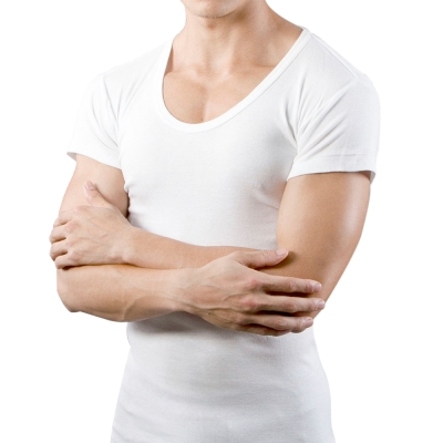 男內衣 白色圓領短袖內衣 (2件組) 3A-Alliance