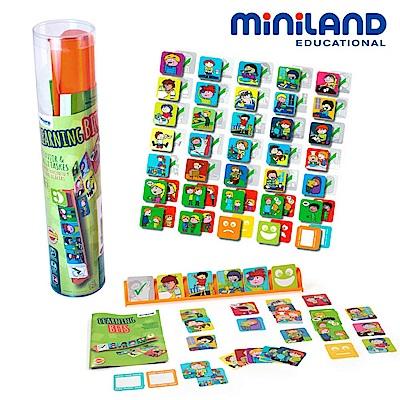 【西班牙Miniland】時間排序養成-生活教育組