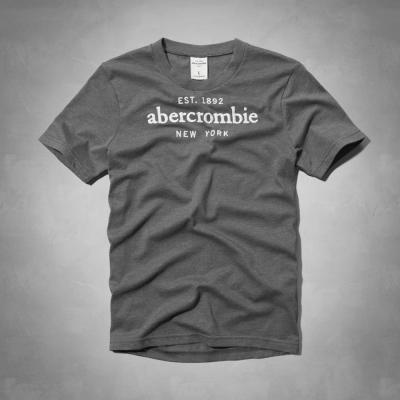 AF a&f Abercrombie & Fitch 短袖 小孩T 灰色 036