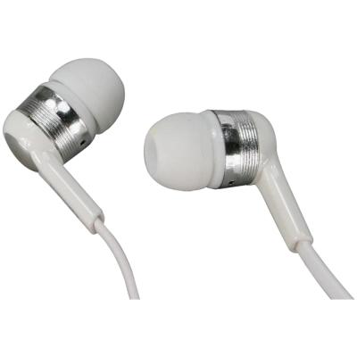 KINYO手機專用耳機麥克風(白色)IPEM-68