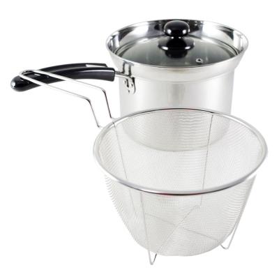 Nudu 日本進口18cm深型單柄便利鍋