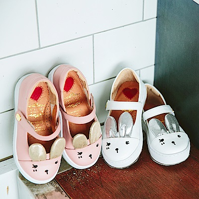 iki2 童鞋 咕妮兔繽紛派對休閒娃娃鞋