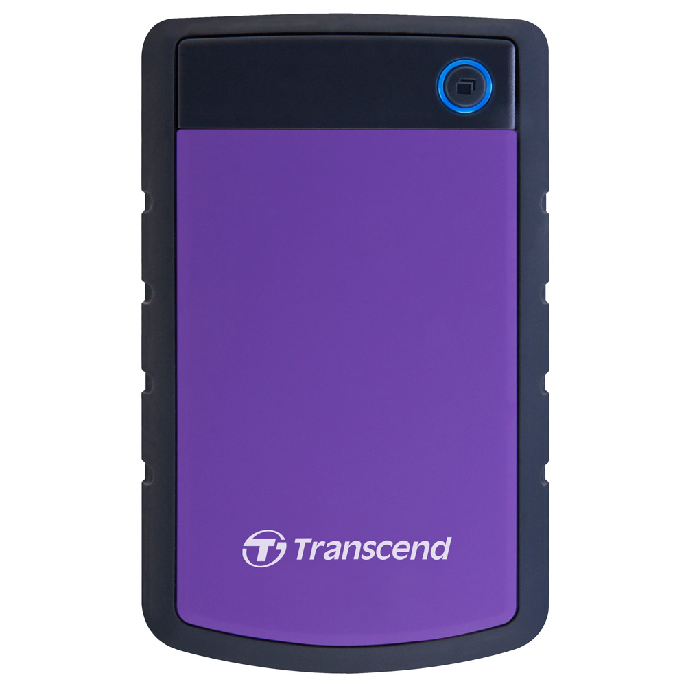創見StoreJet 1TB 25H3P 外接式防震硬碟