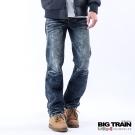 BIG TRAIN 惡童小直筒-男-深藍
