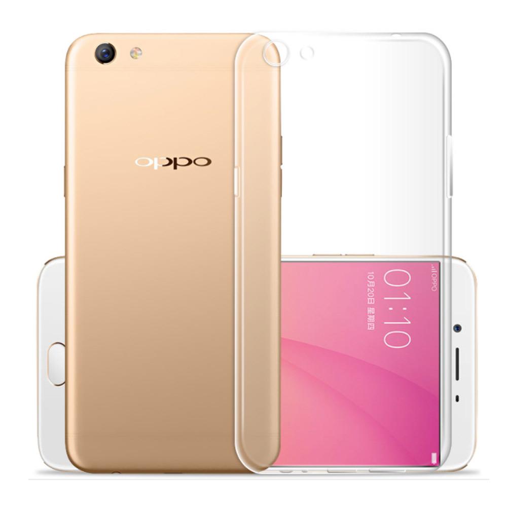 水漾 OPPO R9s Plus一體全包式帶防塵塞TPU手機軟殼-透明