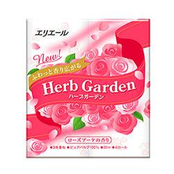 日本大王elleair 芯香花苑三層捲筒衛生紙奢華玫瑰香(4