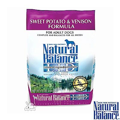 Natural Balance 低敏系列 無榖地瓜鹿肉 全犬糧 4.5磅 x 1包