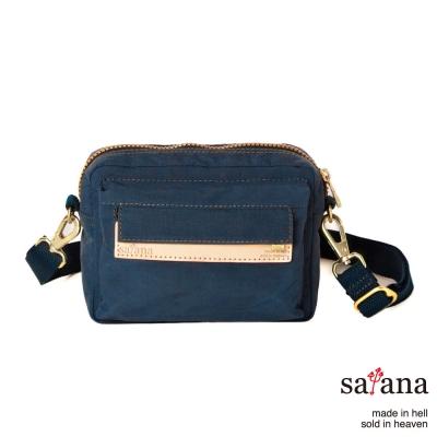 satana-腰包-斜背兩用包-午夜藍