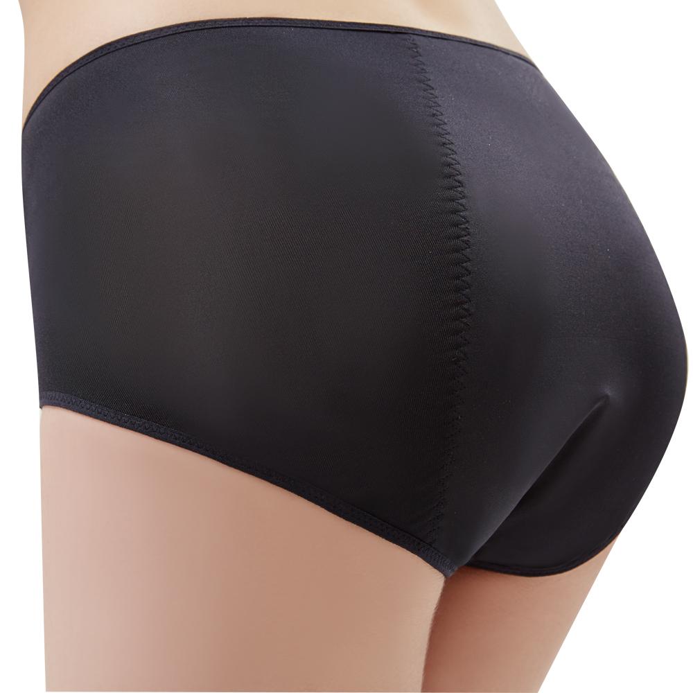 思薇爾 Tour-Dry系列M-XXL素面夜用中腰生理褲(黑色)