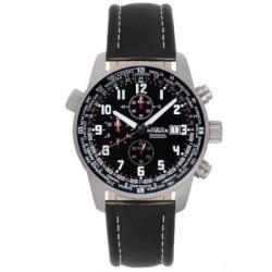 AstroAvia 火海使者計時碼錶-黑/42mm