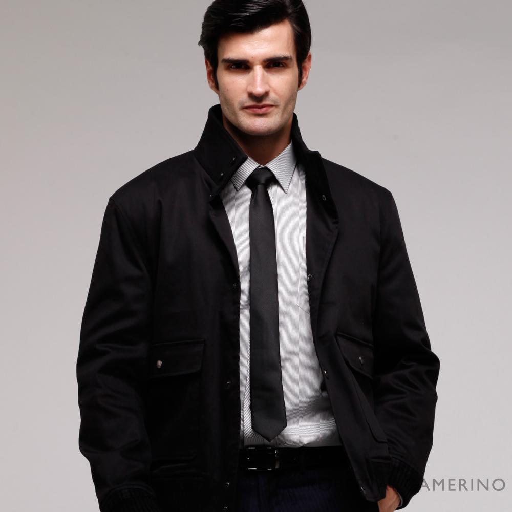 ROBERTA諾貝達 台灣製 紳仕嚴選夾克外套 HOS52-99黑色