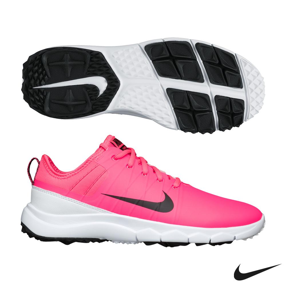 (女) Nike FI IMPACT 2 高爾夫球鞋-桃紅