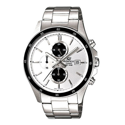CASIO EDIFICE品味都會時尚腕錶(銀)-41mm