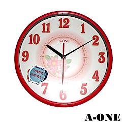 A-ONE 花樣輕巧型掛鐘
