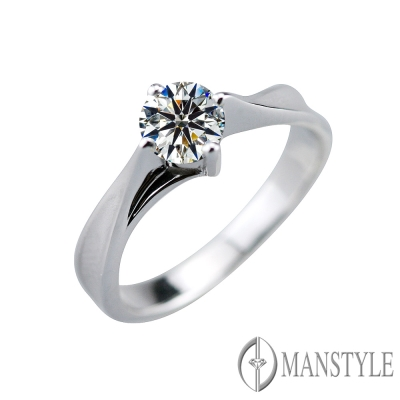 MANSTYLE 風情 0.60ct 八心八箭鑽石戒指