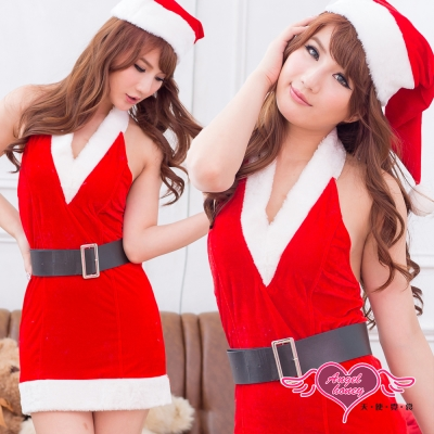 天使霓裳 聖誕饗宴 狂熱聖誕舞會 耶誕服 角色服(紅F)