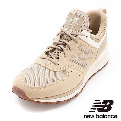 New Balance 574復古鞋WS574SFI女性卡其