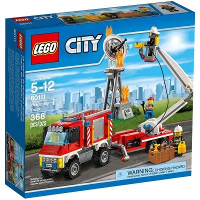 LEGO樂高-城市系列-60111-重型消防車