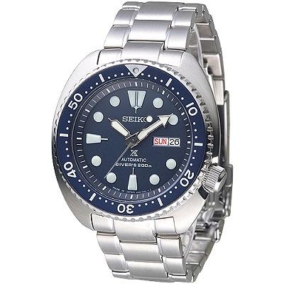 SEIKO PROSPEX日製復刻鮑魚潛水200M機械錶(SRP773J1)-藍/41mm