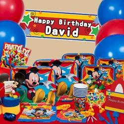 派對盒 PartyBox 生日派對懶人包 歡樂米奇主題 8人豪華派對盒