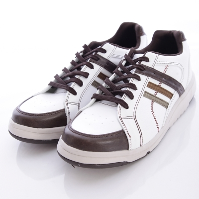 日本Supplist戶外健走鞋-潮流休閒款-SUM1251白(男段)