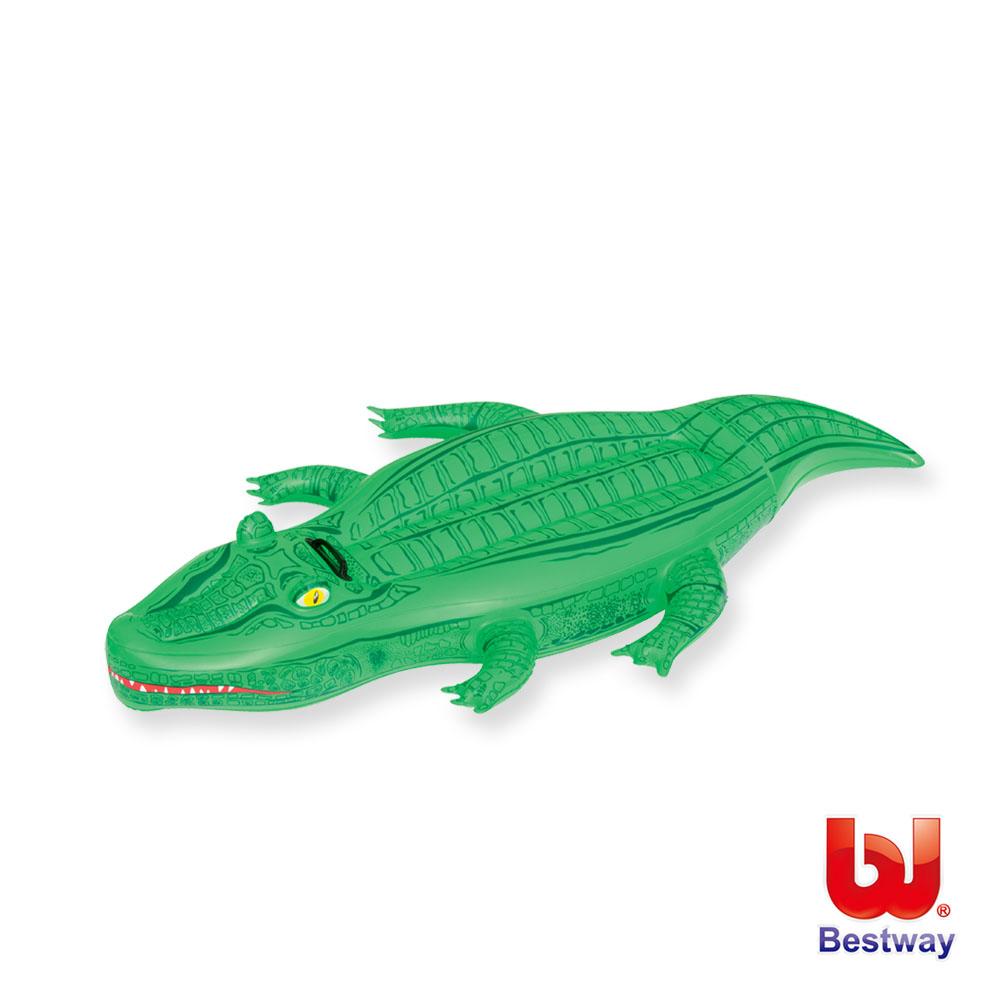 凡太奇。Bestway。65X35吋鱷魚充氣坐騎