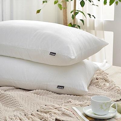 義大利La Belle 超細纖維可水洗抑菌極致舒柔枕 二入