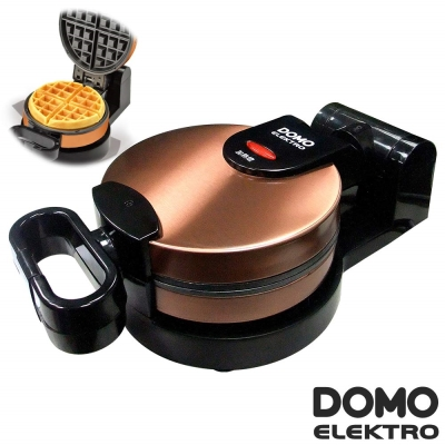 比利時DOMO不鏽鋼翻轉式厚片鬆餅機(DM9006AWT)