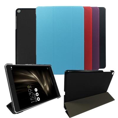 ASUS ZenPad 3s 10 Z500M 9.7吋 卡斯特紋超薄三折保護套